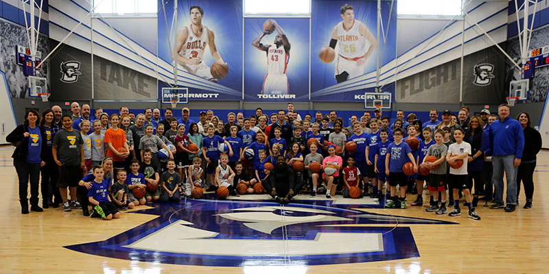 HFS Creighton Coaches event group shot
