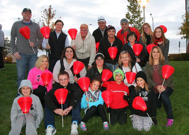 Leukemia & Lymphoma Society group photo